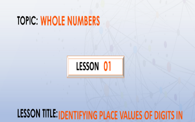 01 Writing Place Values Of Digits In Numbers.