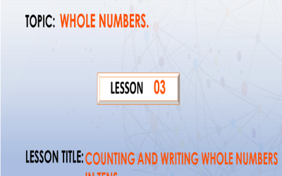 03 Counting And Writing Whole Numbers In Tens
