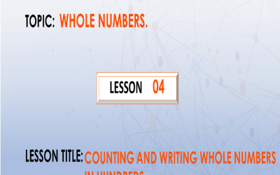 04 Counting And Writing Whole Numbers In Hundreds