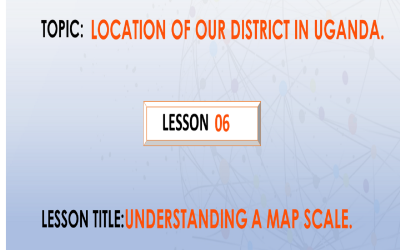 6. Understanding A Map Scale. P.4.