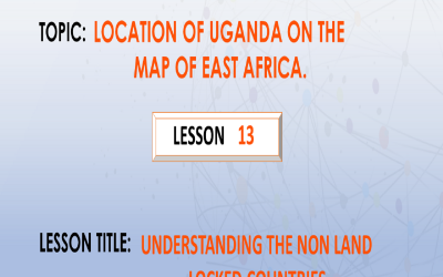 13.Understanding the Non-land locked countries.