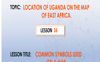 16. Common Symbols Used On a Map.