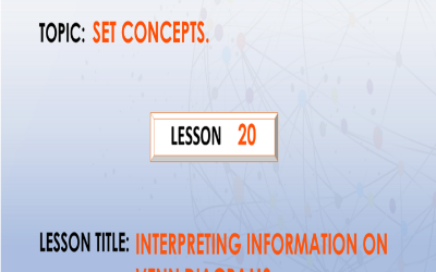20 Interpreting Information On Venn Diagrams.